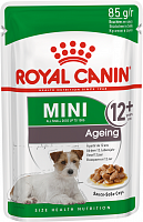 Royal Canin Pouch Mini Ageing 12+ в соусе, 85 гр