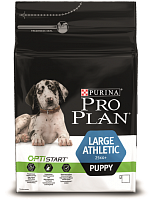 Purina Pro Plan Large Puppy Athletic с курицей и рисом
