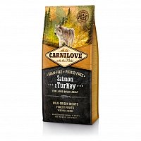CarniLove Grain Free Adult Large Breed с лососем и индейкой