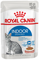 Royal Canin Pouch Indoor Sterilised в соусе, 85 гр