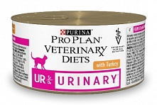 Purina Pro Plan Veterinary Diets UR St/Ox Urinary с индейкой, 195 гр
