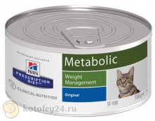 Hill's Prescription Diet Metabolic Feline консервированный 156 гр