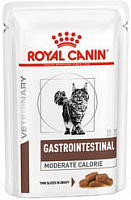 Royal Canin Veterinary Diet Pouch Gastrointestinal Moderate Calorie Feline в соусе, 85 гр