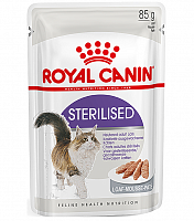 Royal Canin Pouch Sterilised паштет, 85 гр