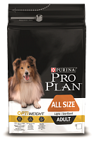 Purina Pro Plan All Size Adult Light/Sterilised с курицей и рисом