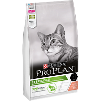 Purina Pro Plan OptiRenal Sterilised с лососем