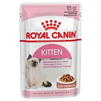 Royal Canin Pouch Kitten Instinctive в соусе, 85 гр