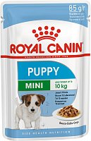 Royal Canin Pouch Mini Puppy в соусе, 85 гр