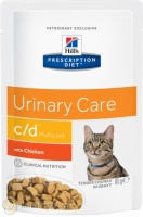 Hill's Prescription Diet Pouch c/d Multicare Feline с курицей, 85 гр