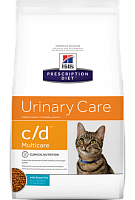 Hill's Prescription Diet c/d Multicare Feline с океанической рыбой, 1.5 кг