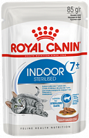 Royal Canin Pouch Indoor Sterilised 7+ в соусе, 85 гр