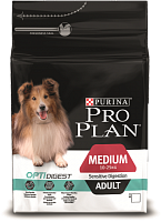 Purina Pro Plan Medium Adult Sensitive Digestion с ягнёнком и рисом