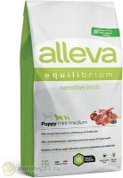 Alleva Equilibrium Sensitive Puppy Mini & Medium Dog с ягнёнком, 2 кг